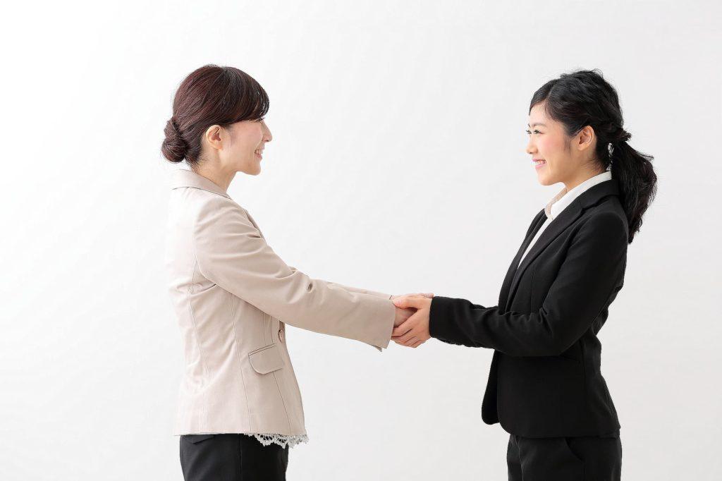 明石市 個別指導 塾 握手