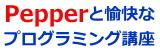 Pepperと愉快なプログラミング 講座/明石市 大久保町 【個別指導キャリア】